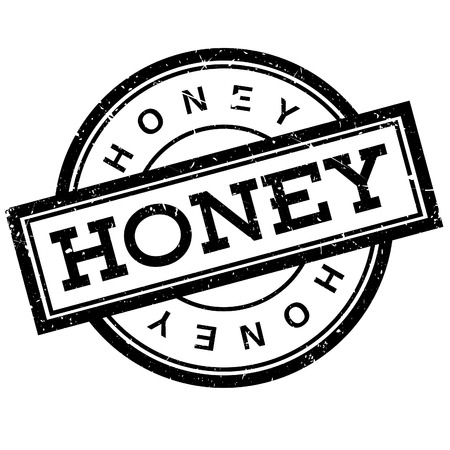 praiseworthy: Honey rubber stamp. Grunge design with dust scratches. Effects can be easily removed for a clean, crisp look. Color is easily changed.
