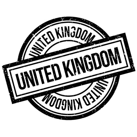 grunge union jack: United Kingdom rubber stamp. Grunge design with dust scratches. Effects can be easily removed for a clean, crisp look. Color is easily changed.