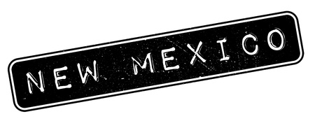 new look: New Mexico rubber stamp. Grunge design with dust scratches. Effects can be easily removed for a clean, crisp look. Color is easily changed.