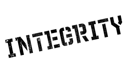 diligence: Integrity stamp. Grunge design with dust scratches. Effects can be easily removed for a clean, crisp look. Color is easily changed.