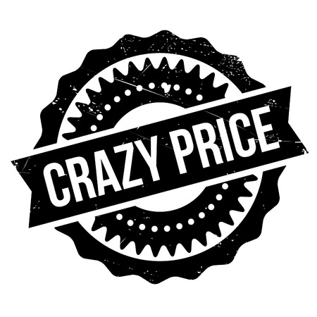 wacky: Crazy price stamp. Grunge design with dust scratches. Effects can be easily removed for a clean, crisp look. Color is easily changed.