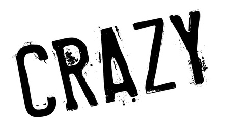 nutty: Crazy stamp. Grunge design with dust scratches. Effects can be easily removed for a clean, crisp look. Color is easily changed.