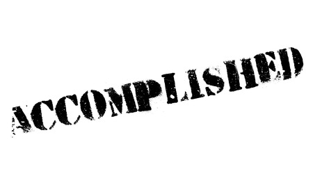 conclude: Accomplished stamp. Grunge design with dust scratches. Effects can be easily removed for a clean, crisp look. Color is easily changed. Illustration