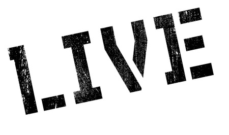 existent: Live stamp. Grunge design with dust scratches. Effects can be easily removed for a clean, crisp look. Color is easily changed.