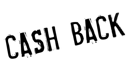 repay: Cash back stamp. Grunge design with dust scratches. Effects can be easily removed for a clean, crisp look. Color is easily changed. Illustration