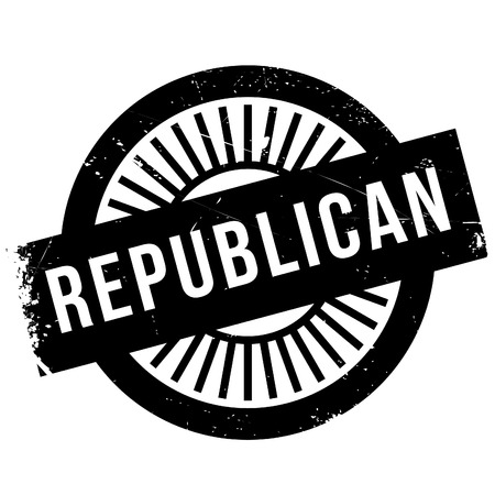 libertarian: Republican stamp. Grunge design with dust scratches. Effects can be easily removed for a clean, crisp look. Color is easily changed.