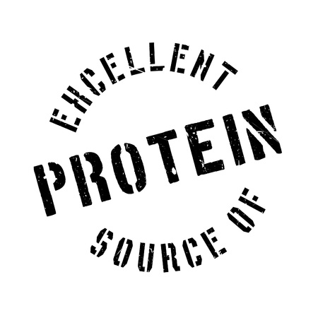 advertiser: Excellent source of protein stamp. Grunge design with dust scratches. Effects can be easily removed for a clean, crisp look. Color is easily changed. Illustration