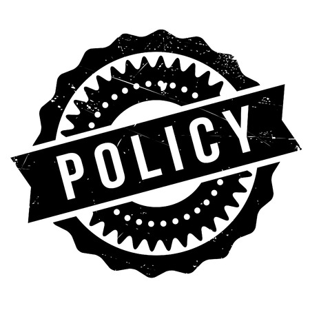 populist: Policy stamp. Grunge design with dust scratches. Effects can be easily removed for a clean, crisp look. Color is easily changed.