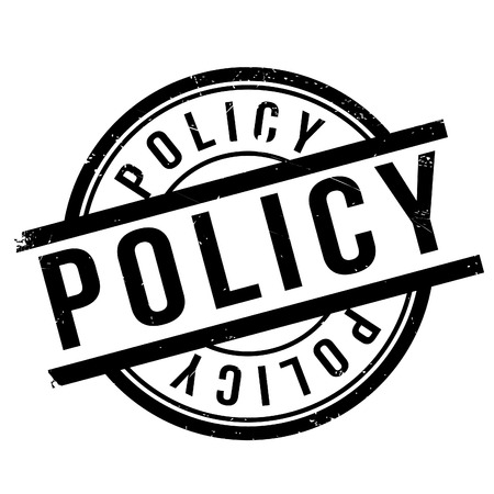 neutrality: Policy stamp. Grunge design with dust scratches. Effects can be easily removed for a clean, crisp look. Color is easily changed.