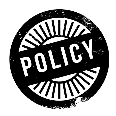 segregation: Policy stamp. Grunge design with dust scratches. Effects can be easily removed for a clean, crisp look. Color is easily changed.