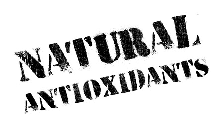 intracellular: Natural antioxidants stamp. Grunge design with dust scratches. Effects can be easily removed for a clean, crisp look. Color is easily changed.