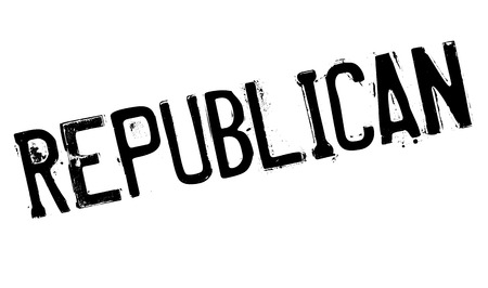 legislator: Republican stamp. Grunge design with dust scratches. Effects can be easily removed for a clean, crisp look. Color is easily changed.