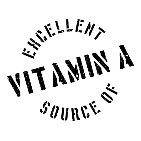 certify: Excellent source of vitamin A stamp. Grunge design with dust scratches. Effects can be easily removed for a clean, crisp look. Color is easily changed.