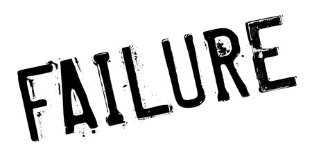 rout: Failure rubber stamp. Grunge design with dust scratches. Effects can be easily removed for a clean, crisp look. Color is easily changed. Illustration