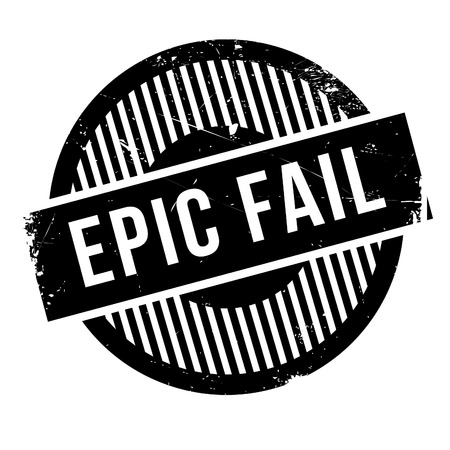deteriorate: Epic fail rubber stamp. Grunge design with dust scratches. Effects can be easily removed for a clean, crisp look. Color is easily changed.