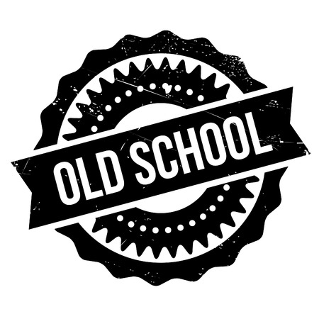Old school stamp. Grunge design with dust scratches. Effects can be easily removed for a clean, crisp look. Color is easily changed. Illustration
