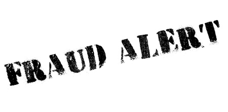 be alert: Fraud alert rubber stamp. Grunge design with dust scratches. Effects can be easily removed for a clean, crisp look. Color is easily changed. Illustration