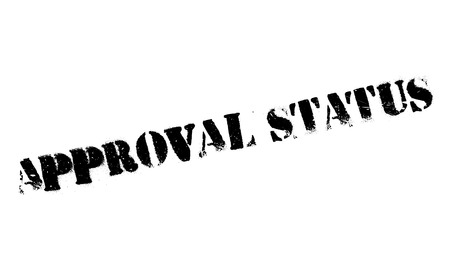 approbation: Approval Status rubber stamp. Grunge design with dust scratches. Effects can be easily removed for a clean, crisp look. Color is easily changed.