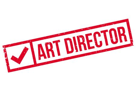 bollywood: Art Director rubber stamp. Grunge design with dust scratches. Effects can be easily removed for a clean, crisp look. Color is easily changed.