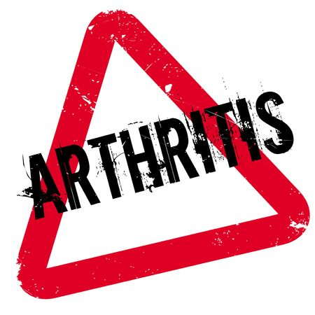 arthritic: Arthritis rubber stamp. Grunge design with dust scratches. Effects can be easily removed for a clean, crisp look. Color is easily changed.