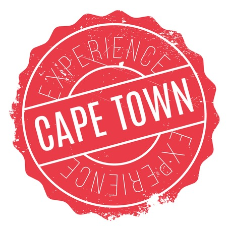 Cape Town stamp. Grunge design with dust scratches. Effects can be easily removed for a clean, crisp look. Color is easily changed. Illustration
