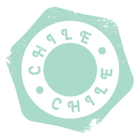 chilean: Chile stamp. Grunge design with dust scratches. Effects can be easily removed for a clean, crisp look. Color is easily changed.