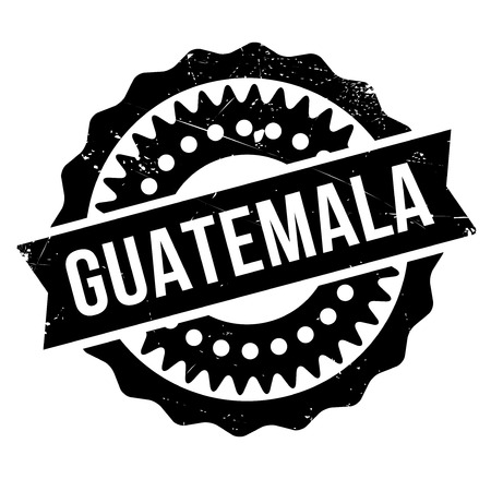 guatemalan: Guatemala stamp. Grunge design with dust scratches. Effects can be easily removed for a clean, crisp look. Color is easily changed. Illustration
