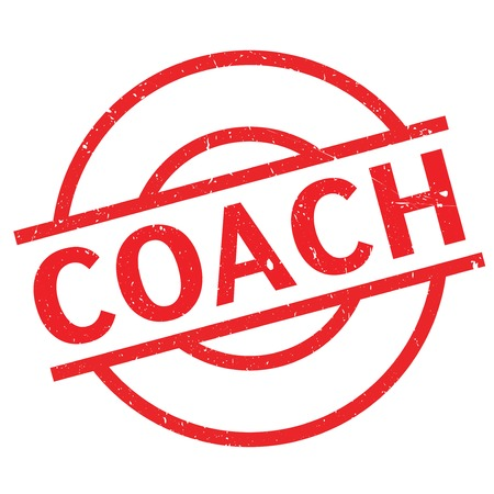 lay out: Coach stamp. Grunge design with dust scratches. Effects can be easily removed for a clean, crisp look. Color is easily changed.
