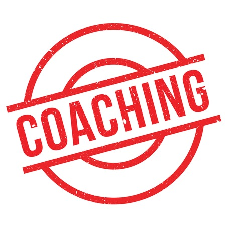 lay out: Coaching stamp. Grunge design with dust scratches. Effects can be easily removed for a clean, crisp look. Color is easily changed.