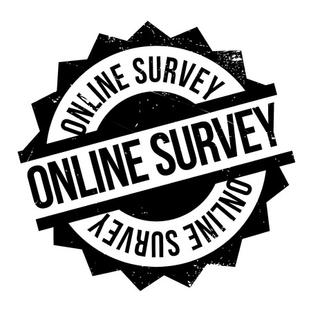 perusal: Online survey stamp. Grunge design with dust scratches. Effects can be easily removed for a clean, crisp look. Color is easily changed.