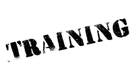 buildup: Training stamp. Grunge design with dust scratches. Effects can be easily removed for a clean, crisp look. Color is easily changed. Stock Photo