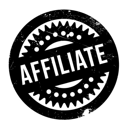 conjoin: Affiliate stamp. Grunge design with dust scratches. Effects can be easily removed for a clean, crisp look. Color is easily changed. Illustration