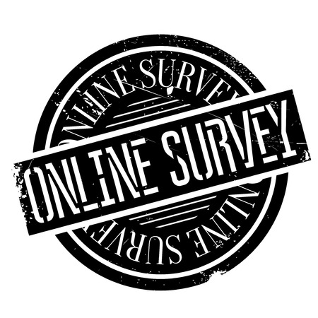 critique: Online survey stamp. Grunge design with dust scratches. Effects can be easily removed for a clean, crisp look. Color is easily changed.