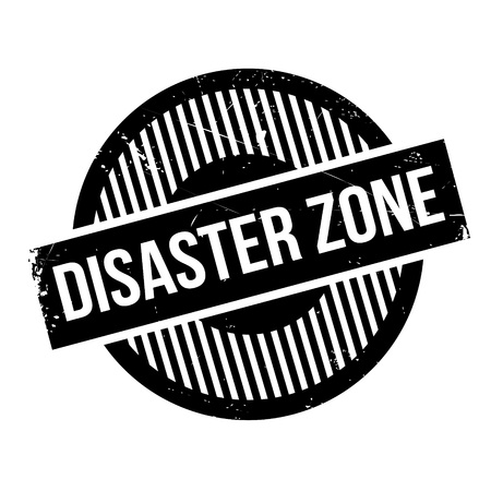 instability: Disaster Zone rubber stamp. Grunge design with dust scratches. Effects can be easily removed for a clean, crisp look. Color is easily changed.