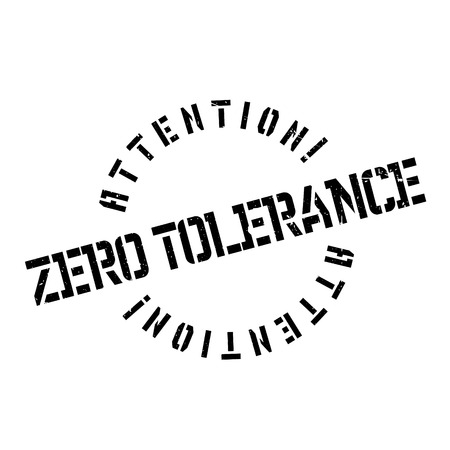 lawlessness: Zero Tolerance rubber stamp. Grunge design with dust scratches. Effects can be easily removed for a clean, crisp look. Color is easily changed.