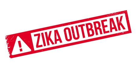 mosquitoes: Zika Outbreak rubber stamp. Grunge design with dust scratches. Effects can be easily removed for a clean, crisp look. Color is easily changed.