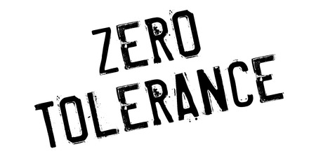 lawless: Zero Tolerance rubber stamp. Grunge design with dust scratches. Effects can be easily removed for a clean, crisp look. Color is easily changed.