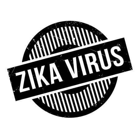 mosquitoes: Zika Virus rubber stamp. Grunge design with dust scratches. Effects can be easily removed for a clean, crisp look. Color is easily changed. Illustration