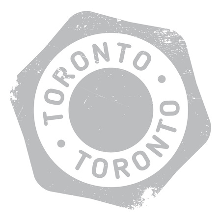 americas: Toronto stamp. Grunge design with dust scratches. Effects can be easily removed for a clean, crisp look. Color is easily changed.