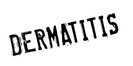 itch: Dermatitis rubber stamp. Grunge design with dust scratches. Effects can be easily removed for a clean, crisp look. Color is easily changed.