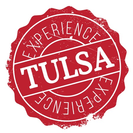 tulsa: Tulsa stamp. Grunge design with dust scratches. Effects can be easily removed for a clean, crisp look. Color is easily changed. rubber grunge