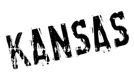 KANSAS: Kansas stamp rubber grunge