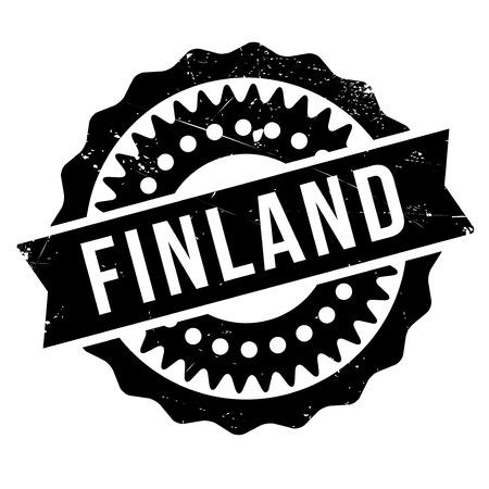 transnational: Finland stamp rubber grunge