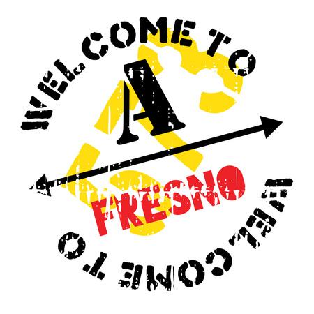 joaquin: Fresno stamp rubber grunge