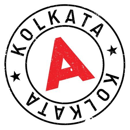 kolkata: Kolkata stamp rubber grunge Illustration