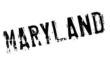 Maryland stamp. Grunge design with dust scratches. Effects can be easily removed for a clean, crisp look. Color is easily changed. rubber grunge