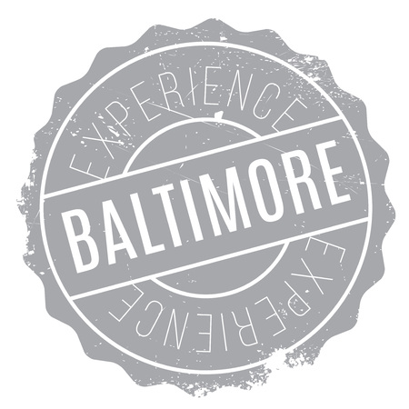 baltimore: Baltimore stamp. Grunge design with dust scratches. Effects can be easily removed for a clean, crisp look. Color is easily changed.