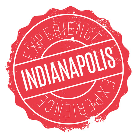 indianapolis: Indianapolis stamp. Grunge design with dust scratches. Effects can be easily removed for a clean, crisp look. Color is easily changed.