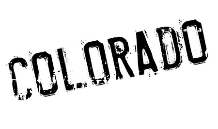 Colorado stamp. Grunge design with dust scratches. Effects can be easily removed for a clean, crisp look. Color is easily changed.