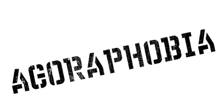 ocd: Agoraphobia rubber stamp. Grunge design with dust scratches. Effects can be easily removed for a clean, crisp look. Color is easily changed.